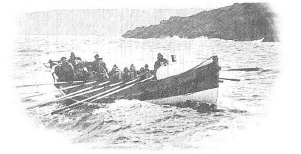 The Historic Role of Cornish Lifeboats